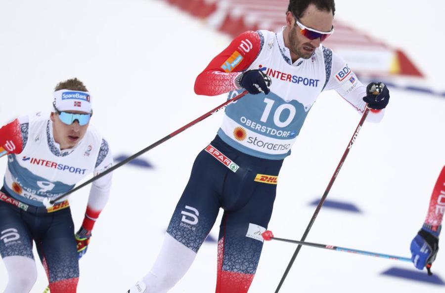 Sci di fondo: tripletta norvegese con Holund, Krueger e Amundsen nella 15 km dei Mondiali di Oberstdorf 2021