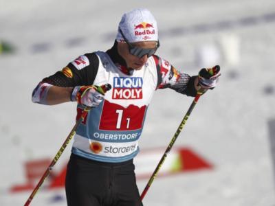 Combinata nordica, Johannes Lamparter resiste nel fondo e vince l'oro iridato da Large Hill! Riiber regola Watabe per l'argento