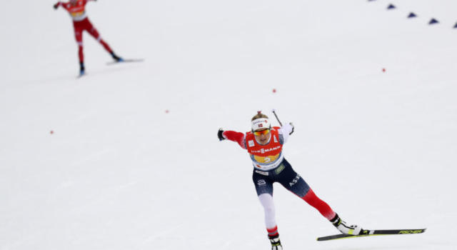 Sci di fondo, assolo iridato di Therese Johaug nella 30 km tc mass start femminile ai Mondiali 2021