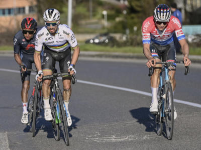 Tirreno-Adriatico 2021, risultati e ordine d'arrivo seconda tappa: trionfa Alaphilippe su van der Poel e van Aert. Decimo Giulio Ciccone