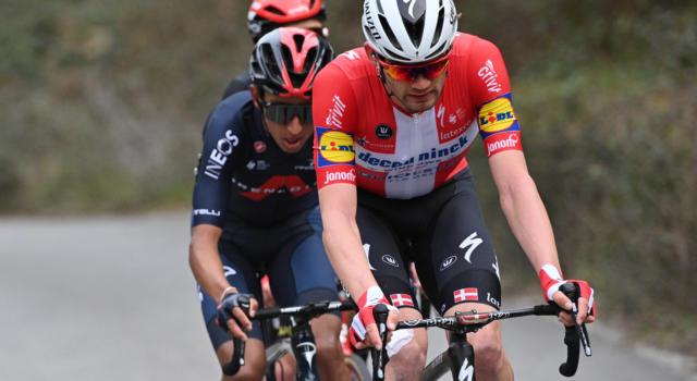 """Giro delle Fiandre 2021, Kasper Asgreen: """"Mi sentivo bene e ho deciso di fidarmi del mio sprint"""""""