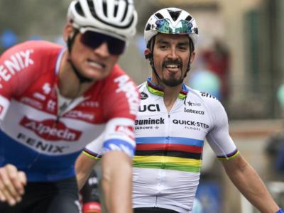 Tirreno-Adriatico 2021: le pagelle di oggi: Alaphilippe magistrale, Van der Poel rimonta ma non basta