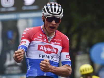 Tirreno-Adriatico 2021, risultati e ordine d'arrivo quinta tappa: numero pazzesco di Mathieu van der Poel. Pogacar 2°