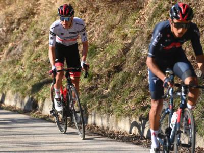 Tirreno-Adriatico 2021, risultati e ordine d'arrivo quarta tappa: Tadej Pogacar trionfa avanti a Yates ed Higuita. Settimo Matteo Fabbro