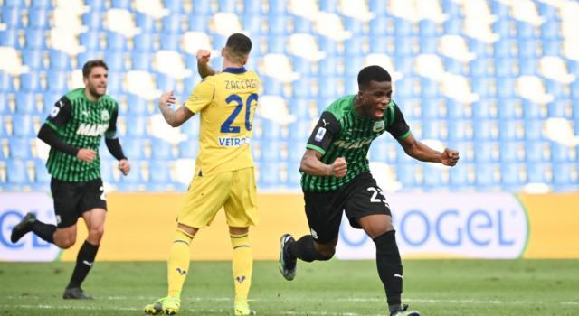 Serie A 2021: il Sassuolo piega il Verona, la Fiorentina domina a Benevento, pari tra Genoa e Udinese