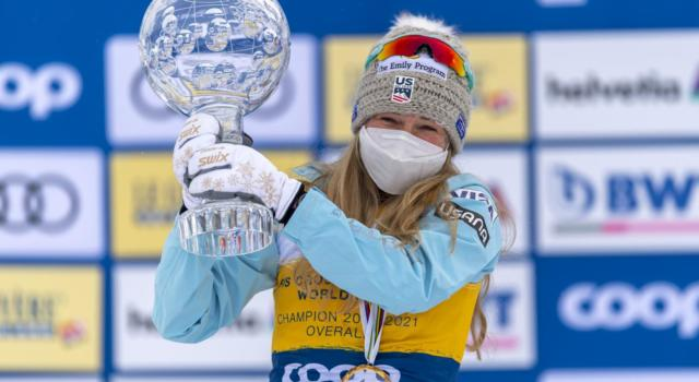 Classifica Coppa del Mondo sci di fondo femminile 2020-2021: la graduatoria finale. Vince Jessie Diggins su Stupak e Andersson