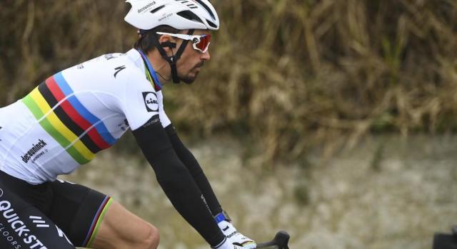 """Milano-Sanremo 2021, Julian Alaphilippe: """"Non sono il super favorito. Cercherò di seguire Van der Poel"""""""