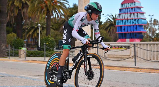 Ciclismo, Matteo Fabbro rinnova con il Team Bora Hansgrohe