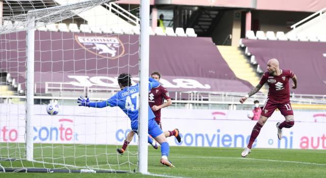 Calcio, Serie A 2021: Zaza e Mandragora ribaltano il Sassuolo. Rimonta epica del Torino che vince 3-2