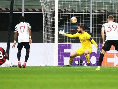 VIDEO Milan-Manchester United 0-1: highlights e sintesi. Rossoneri eliminati negli ottavi di Europa League 2021