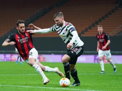 Calcio, Milan battuto in casa dal Manchester United per 0-1 ed eliminato negli ottavi di Europa League