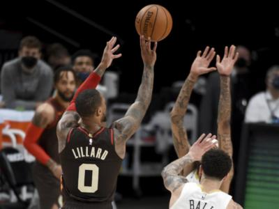 NBA 2021, Lillard e McCollum stendono Dallas, Denver batte Chicago dopo un overtime