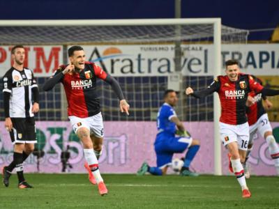 Calcio: al Parma non basta il ritorno al gol in Serie A di Pellè. Scamacca espugna il Tardini con le prime reti in maglia Genoa del 2021