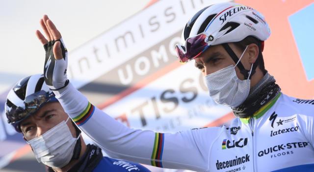 """Milano-Sanremo 2021, Julian Alaphilippe: """"E' stata una corsa durissima. Non avrei potuto fare di più"""""""