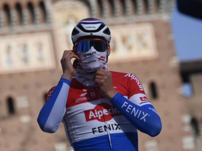 """Giro delle Fiandre 2021, Mathieu van der Poel: """"Un po' di delusione, ma era più forte di me"""""""