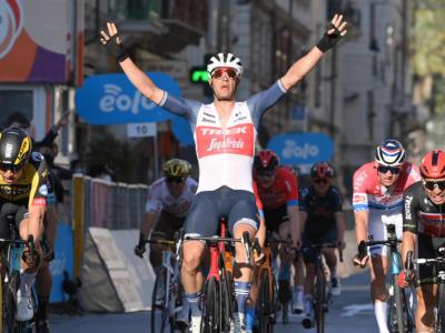 Milano-Sanremo 2021, colpaccio di Jesper Stuyven! Il belga sorprende i favoriti della vigilia, 8° Colbrelli