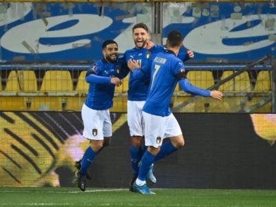 Calcio, l'Italia batte a Parma per 2-0 l'Irlanda del Nord nelle Qualificazioni ai Mondiali 2022