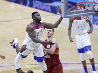NBA 2021: Zion Williamson stende Dallas, i Clippers vincono il big match coi 76ers