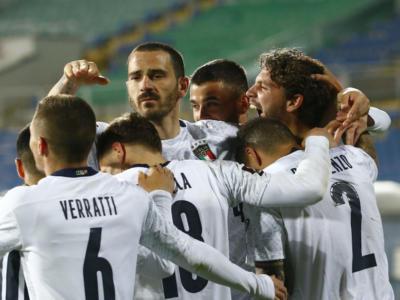 Pagelle Lituania-Italia 0-2, qualificazioni Mondiali calcio 2022: Bernardeschi e Locatelli sugli scudi. Decidono Sensi e Immobile: brilla Svedauskas