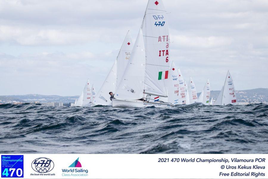 Vela, Berta/Caruso continuano a rimontare ed entrano nella top5 prima della Medal Race agli Europei 470