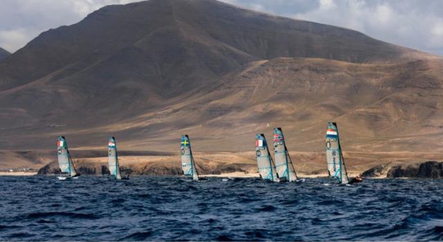 Vela, Ferrarese/Togni continuano a sognare il pass olimpico nei 49er a Lanzarote. Seconda giornata molto negativa al femminile