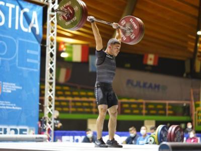 Sollevamento pesi, Europei 2021: Davide Ruiu è bronzo di slancio nei -61 kg! 5° posto assoluto per il sardo, bene anche Massidda
