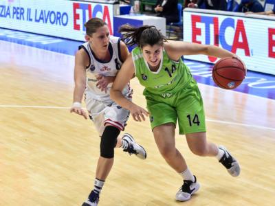 Basket femminile, le migliori italiane della 24ma giornata di A1. Sara Madera capofila della valida settimana tricolore