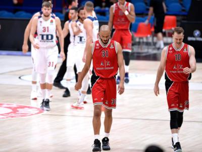 Basket: Olimpia Milano, rinviati i propositi di quarti di finale di Eurolega. Il Baskonia vince con un grande terzo quarto