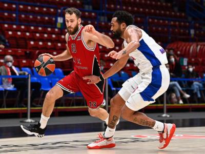 LIVE CSKA Mosca-Olimpia Milano 76-84, Eurolega basket in DIRETTA: Punter stellare con 32 punti, gli uomini di Messina espugnano la capitale russa!