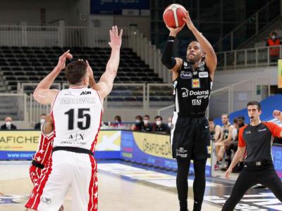 Basket, Serie A 2021: Trento compie l'impresa contro Milano, vittorie interne per Cremona e Treviso