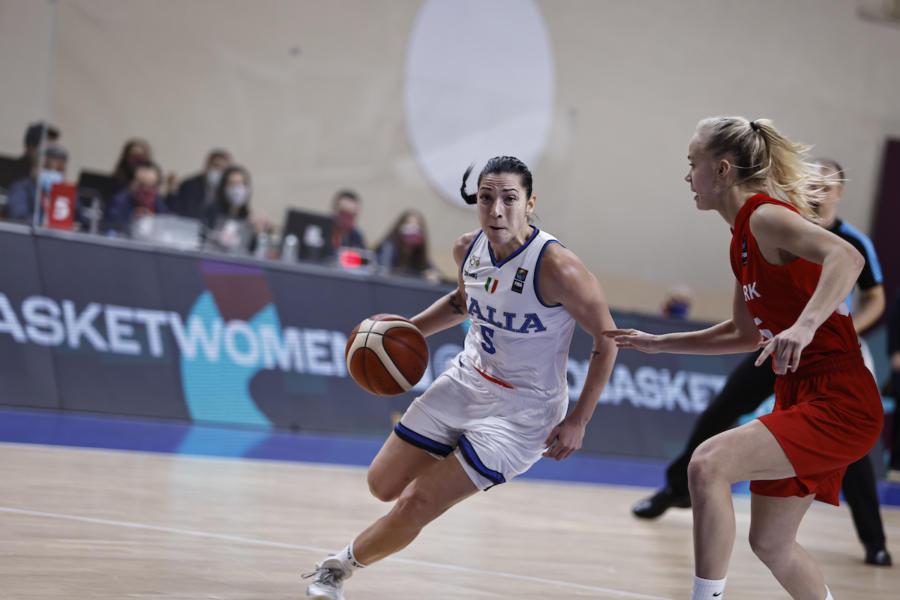 Basket femminile: Italia in seconda fascia nel sorteggio degli Europei 2021