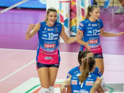 LIVE Novara-Chieri 3-1, Semifinale Coppa Italia volley in DIRETTA: l'Igor vola in finale dopo una battaglia e domani sfiderà Conegliano!