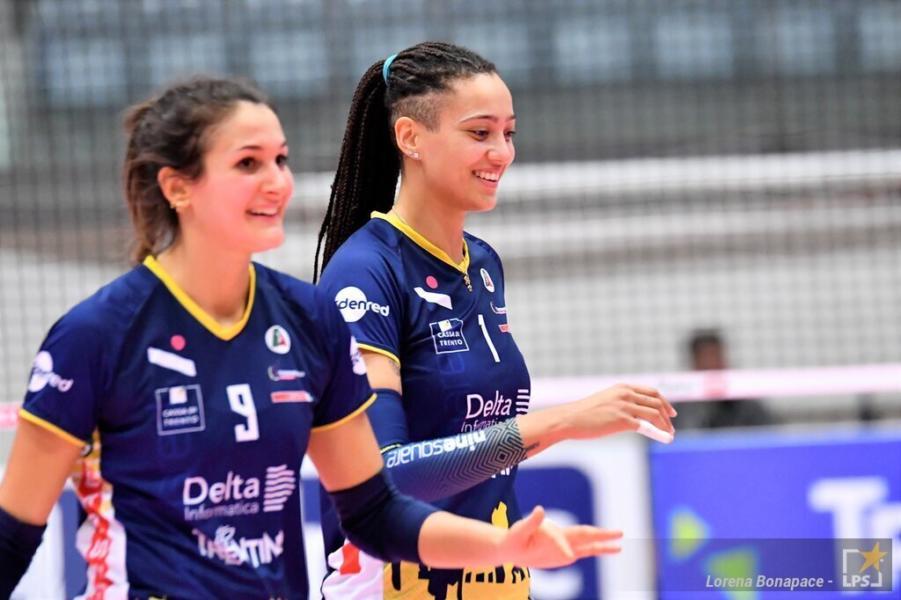Serie A1 volley femminile: favolosa rimonta di Trento che super al tie break Bergamo