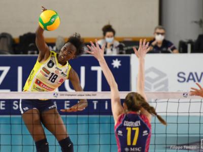"""Volley, Paola Egonu: """"Le Olimpiadi sono un sogno e avrò maggior esperienza. A Conegliano pensiamo partita per partita"""""""