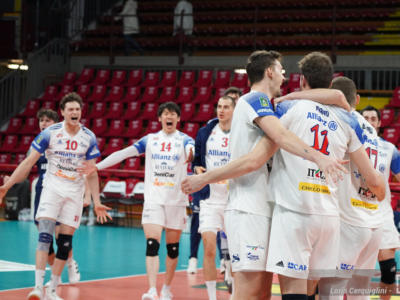 "Volley, Playoff SuperLega: Trento vola in semifinale, Civitanova batte Modena. Perugia-Milano alla ""bella"""