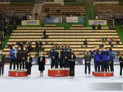 Ginnastica artistica, Serie A: la Ares vince la seconda tappa al maschile, sul podio Virtus e Pro Patria