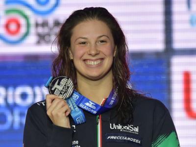 Nuoto, Arianna Castiglioni lancia la sfida a Pilato e Carraro: la lombarda velocissima nei 100 rana a Lodi