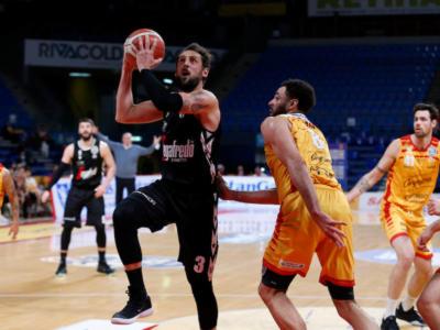 Basket, Serie A 2021: Trento e Virtus Bologna ok, cadono Brescia e Pesaro