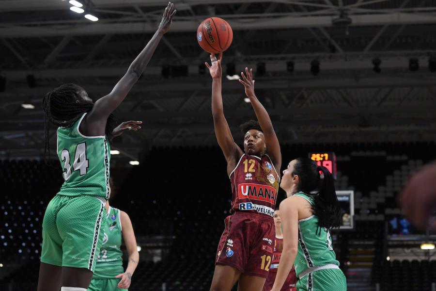 Basket femminile, Venezia supera Ragusa e conquista l'accesso alla finale di Coppa Italia