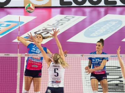 Volley femminile, Coppa Italia 2021: Novara vince 3-1 il derby con Chieri e sfiderà Conegliano in finale