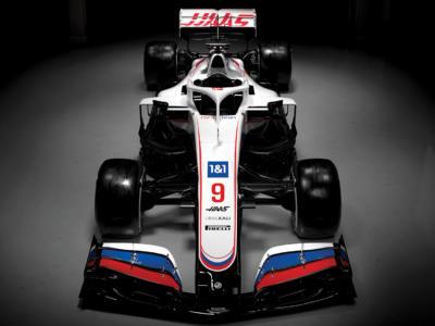 F1, il Team Haas svela la livrea per il 2021