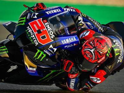 MotoGP, GP Portogallo 2021. Fabio Quartararo trionfa davanti a uno splendido Francesco Bagnaia. Cade Valentino Rossi
