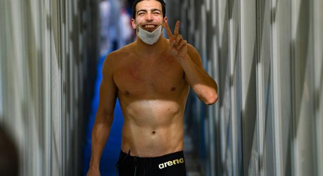 """VIDEO Gabriele Detti: """"Alle Olimpiadi di Tokyo punto a nuotare i 400 sl in 3'41″"""""""