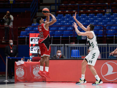 Basket, Eurolega 2021: l'Olimpia Milano sfida il Panathinaikos e punta al quarto posto