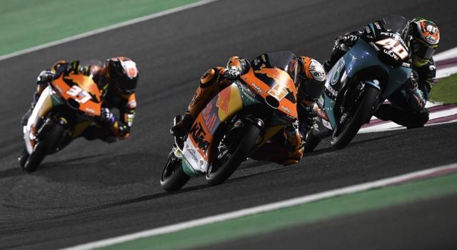 Moto3, GP Doha 2021: risultati warm-up. Masià davanti a tutti, Andrea Migno 2° a 25 millesimi