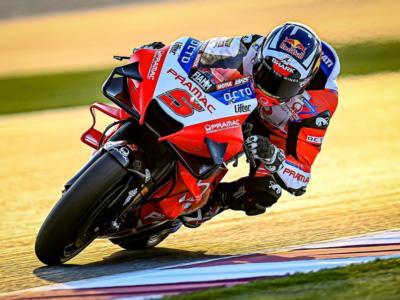 MotoGP, GP Doha 2021: risultati warm-up. Zarco davanti alle Yamaha. Morbidelli 4°, Valentino Rossi in crisi