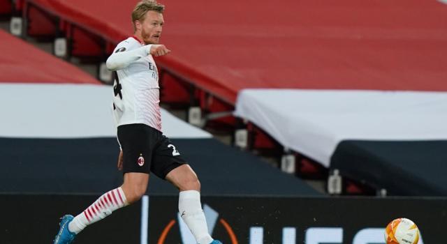 VIDEO Manchester United-Milan 1-1: highlights e sintesi. Kjær risponde a Diallo, pari importante per i rossoneri nell'Europa League 2021