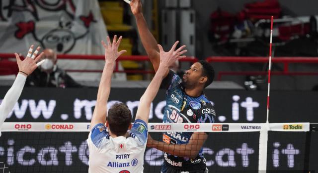 LIVE Trento-Perugia 3-0, Champions League volley in DIRETTA. Leon stecca, l'Itas ne approfitta e domina la semifinale di andata