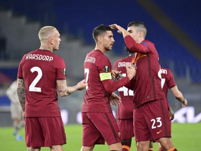 VIDEO Roma-Shakhtar Donetsk 3-0: highlights e sintesi. Tris giallorosso nell'andata degli ottavi di Europa League 2021