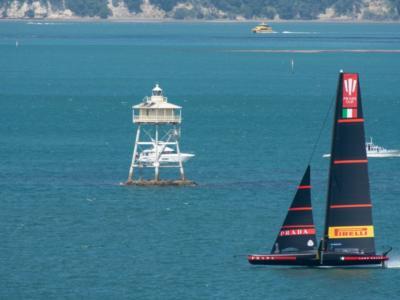 """America's Cup, la vela Code Zero di New Zealand. De Felice: """"Anche Luna Rossa l'aveva valutata"""""""